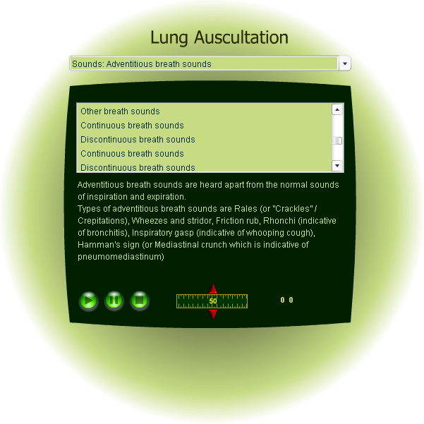 Chest and lung auscultation - Learn how to auscultate the lungs.